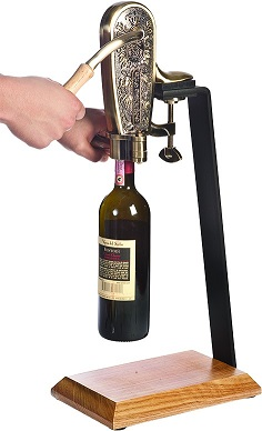 4085SET Le Grape Uncorking Machine with Table Stand